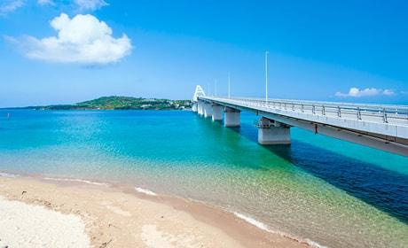 瀬底島 アンチ浜ビーチ